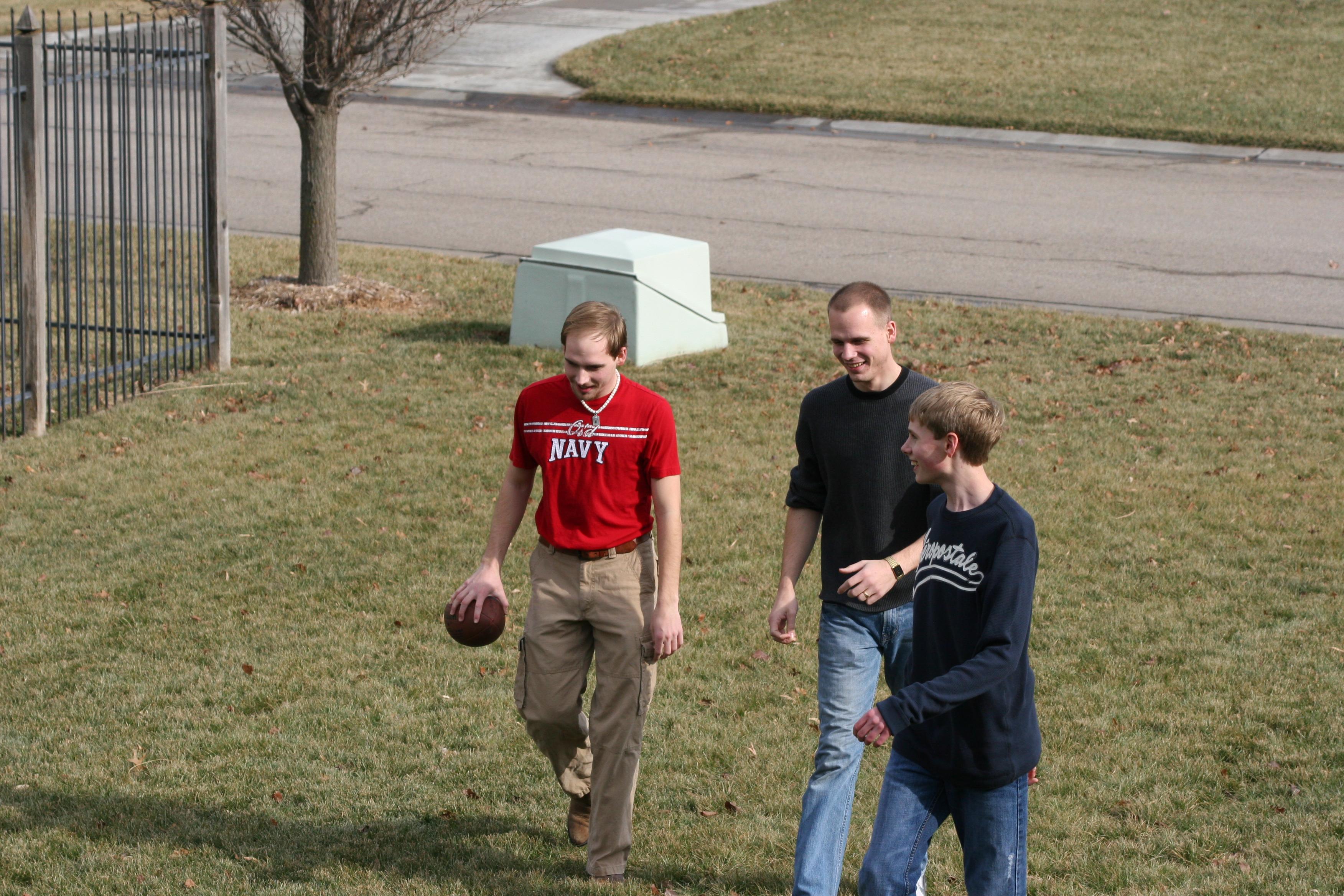 Jared, Jonathan & Stephen Hoover
